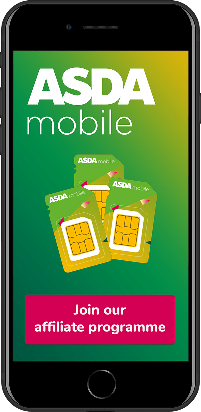 Join the Asda mobile affiliate programme