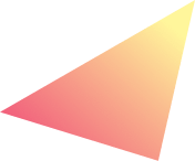 Pink to yellow gradient shard
