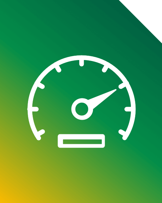 An image of a speedometer to show the speed of Asda Mobile.