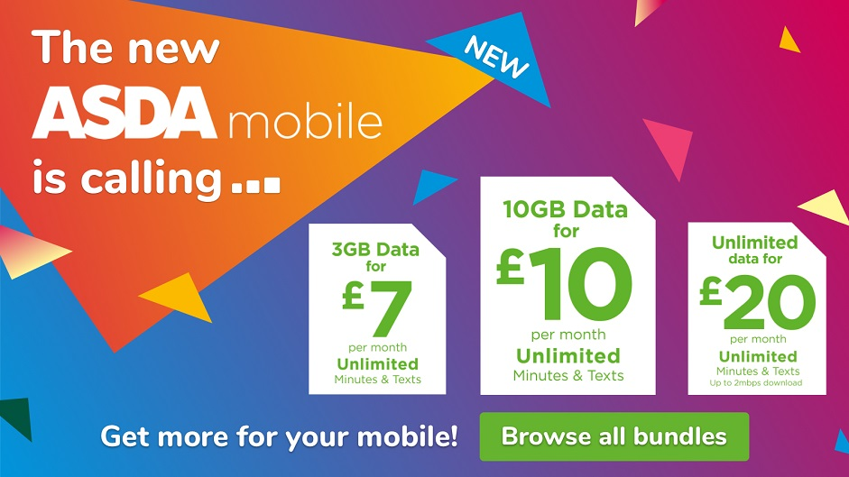 The new Asda mobile is calling